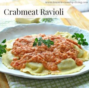 Crabmeat Ravioli Recipe