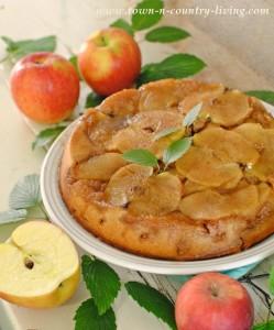 Fall Recipe - Apple Upside Down Cake