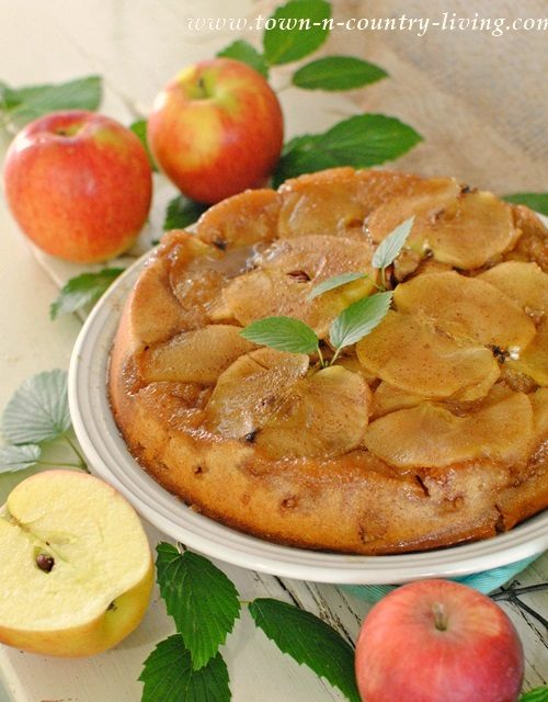 Fall Recipe - Apple Upside Down Cake