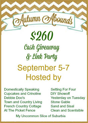Autumn Abounds Cash Giveaway