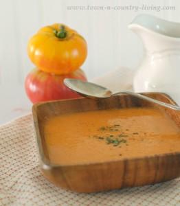 Tuscan Style Tomato Soup