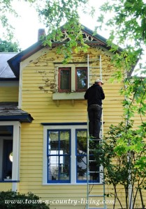 Painting Our Victorian Farmhouse