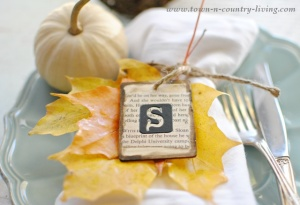DIY Fall Place Cards