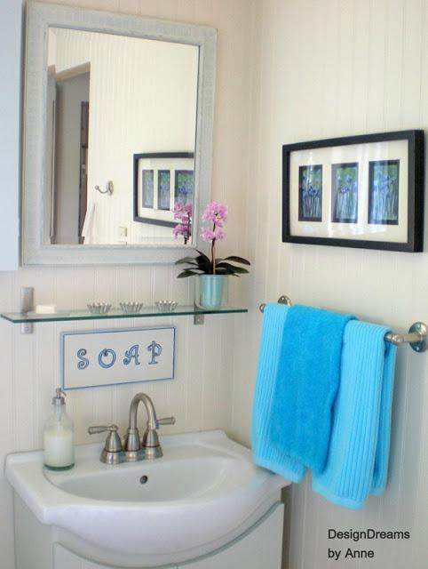 Cottage Style Bathroom Makeover