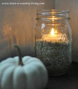 How to Make 5 Minute Mason Jar Candles