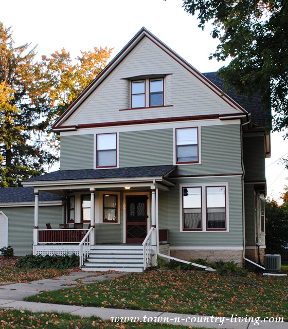 Historic Clapboard Victorian House