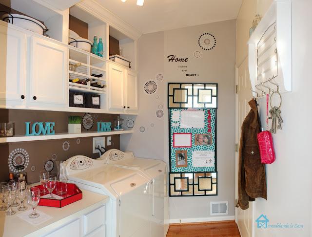 Laundry Room at Remodelando la Casa