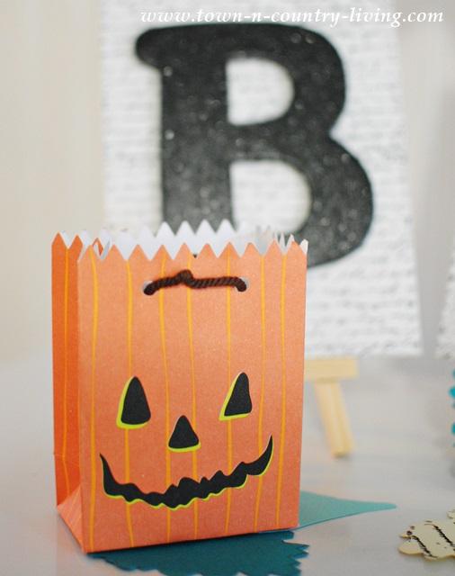 Pumpkin Party Bag for Halloween