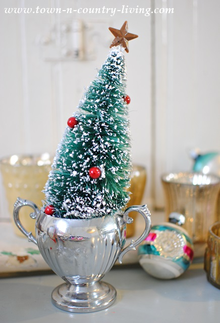 Vintage Christmas Flea Market Finds - Town & Country Living