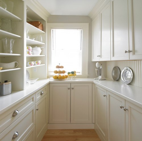 traditional kitchen pantry by brookline architects building designers michael kim assoc - Kitchen Pantries