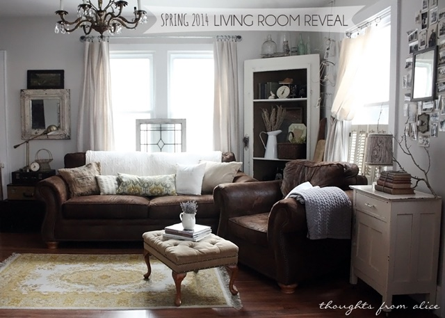 Neutral Living Room with Plenty of Vintage Style