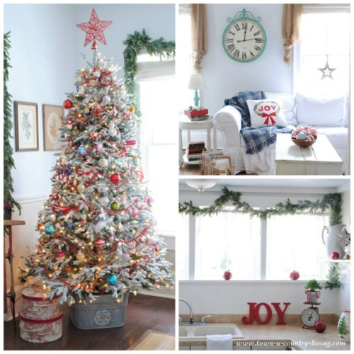 Christmas Collage - My Holiday Home Tour