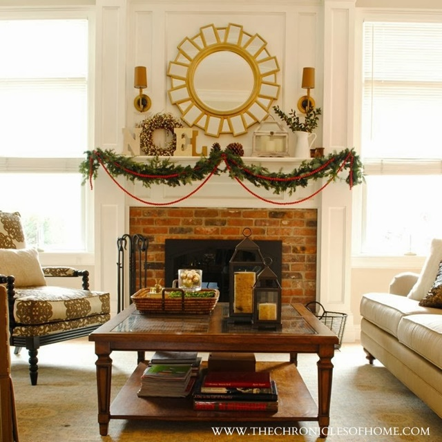 At The Chronicles Of Home Has A Gorgeous Christmas Home Tour