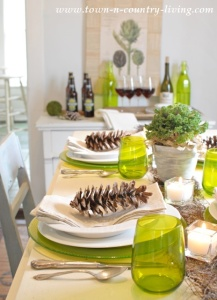 Modern Country Table Setting