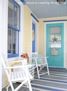 Home Improvement - Exterior Paint Colors on Farmhouse