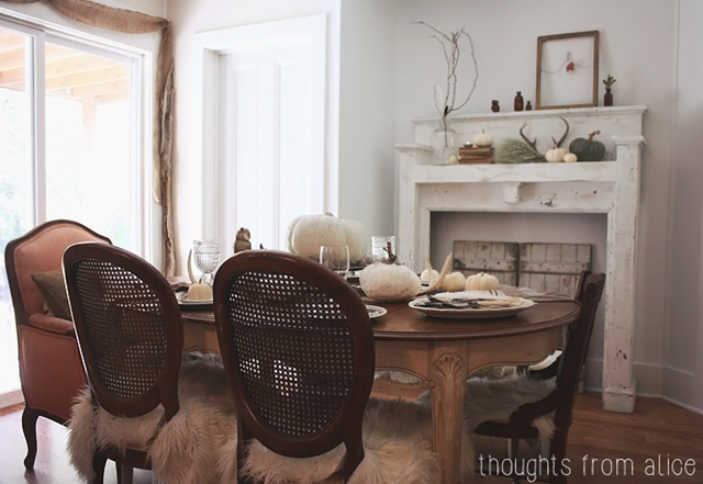 Rustic Vintage Dining Room