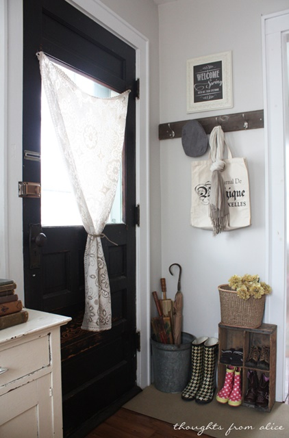 Vintage Style Entry Way