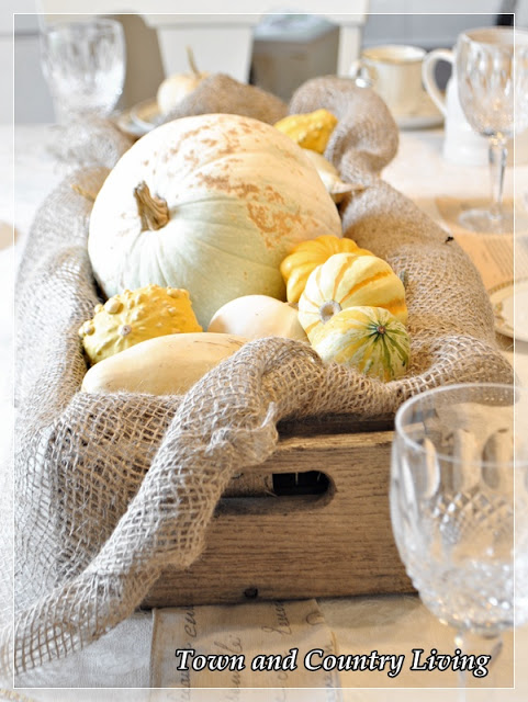 Thanksgiving table settings town country living