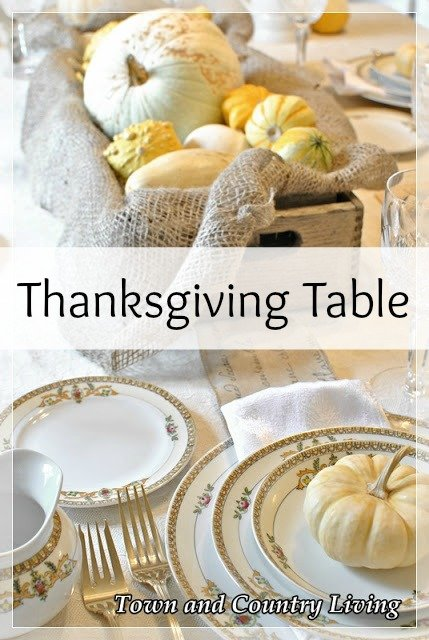 Holiday Decor - Thanksgiving Table Settings