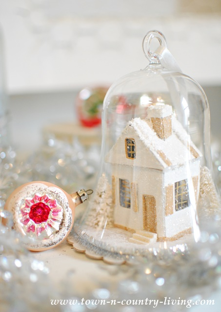 Vintage Style Christmas Vignette Town Amp Country Living