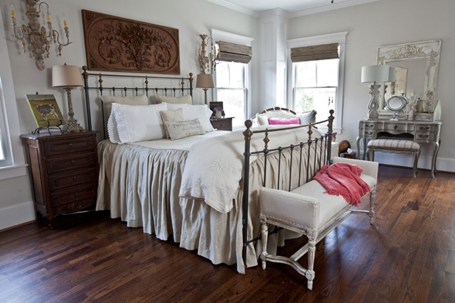 Charming home tour cedar hill 39 s city house town for French country master bedroom