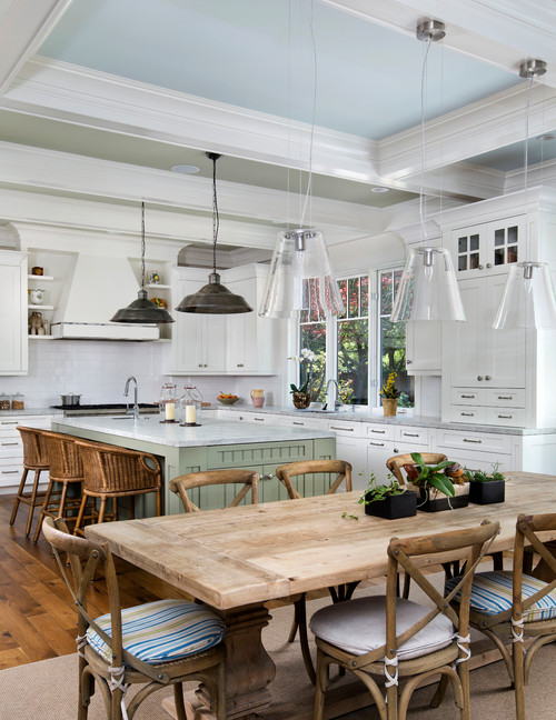 In search of the perfect kitchen table town country living for Perfect country kitchen