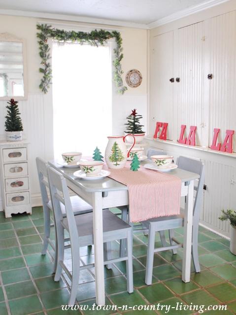 Christmas Breakfast Nook