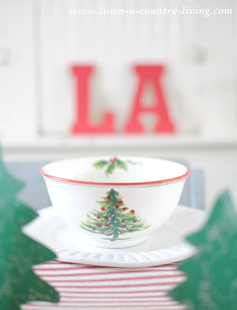 Christmas Dishes from Home Goods