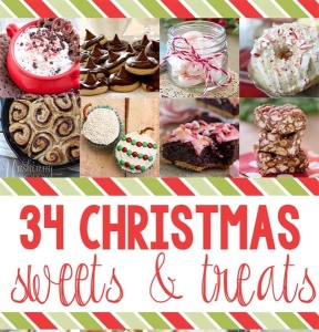 Christmas Treats and Sweets Blog Hop - over 30 recipes!