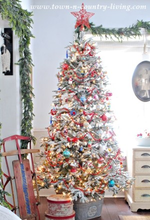 Town and Country Living Christmas Home Tour 2014