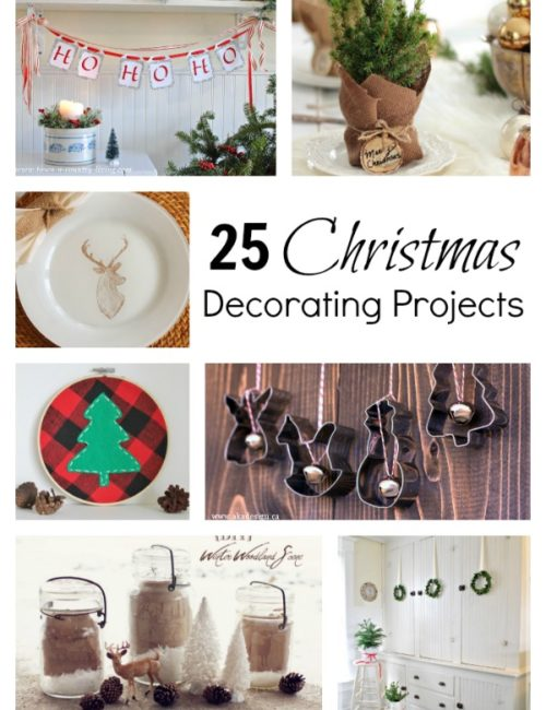 25 DIY Christmas Decorating Projects