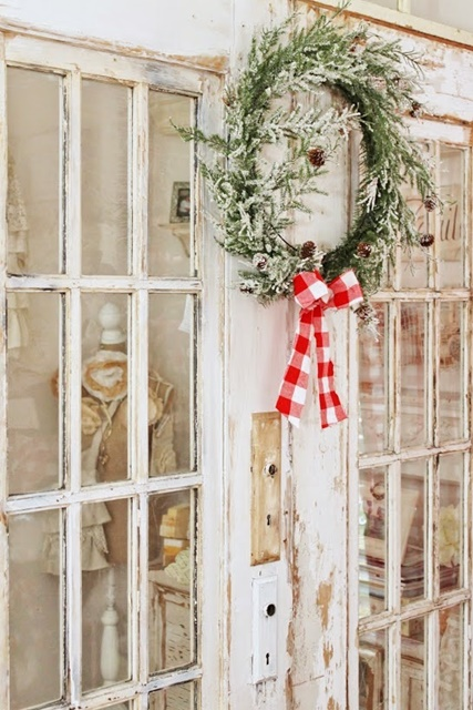 Nordic Style Christmas at Junk Chic Cottage