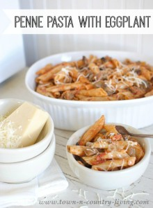 Penne Pasta with Eggplant