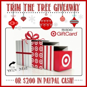 $200 Holiday Giveaway and a Winner!