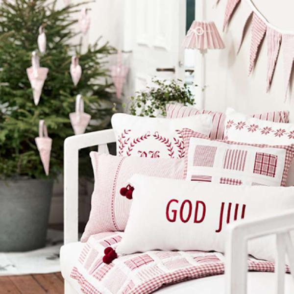 Red and White Scandinavian Christmas