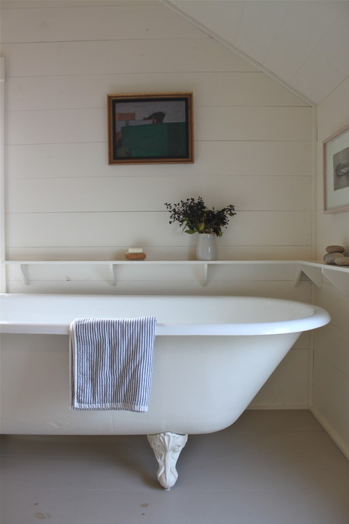 Country White Bathroom