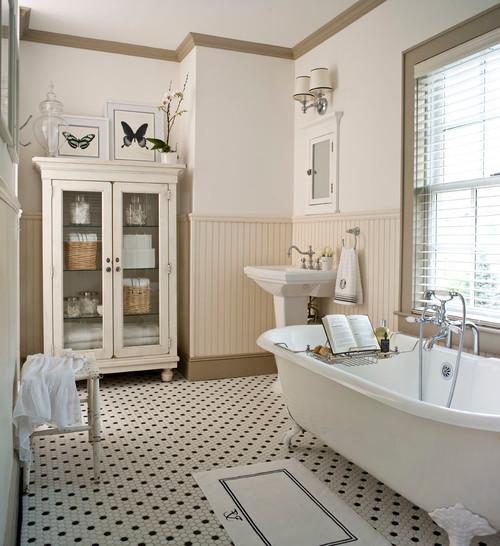 farmhouse bathroom - Farmhouse Bathroom Ideas
