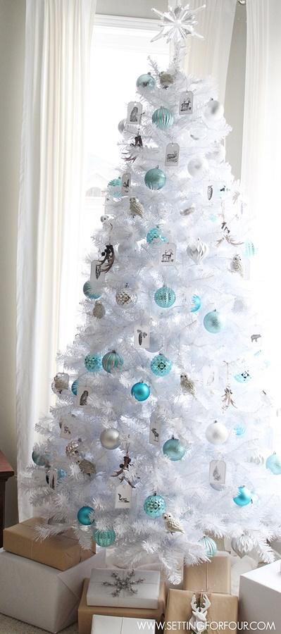 White Glam Christmas Tree