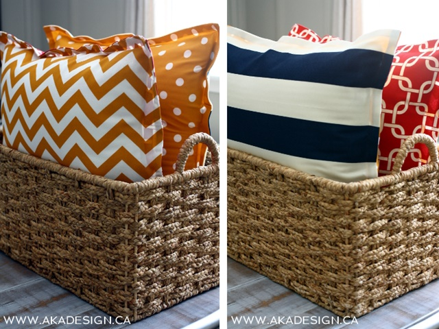 No Sew Floor Cushions From AKA Design