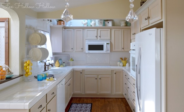 Cottage Style Kitchen on a Budget