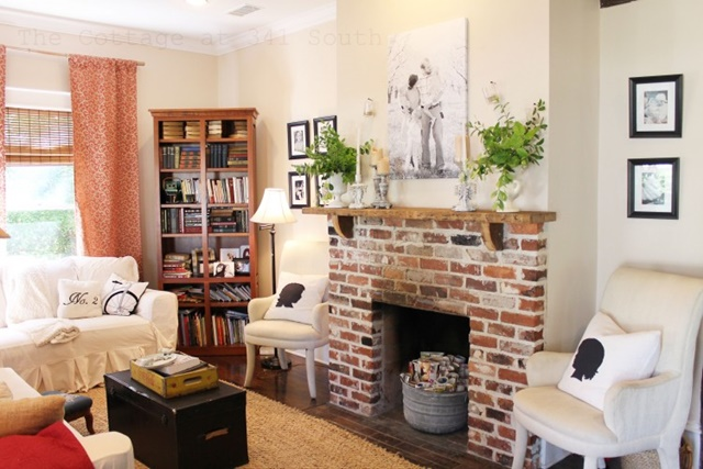 36 Charming Living Room Ideas: Town & Country