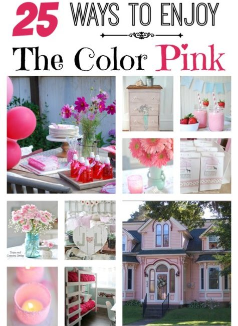 25 Ways to Enjoy the Color Pink