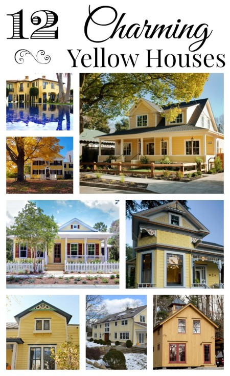 Collection of 12 Charming Yellow Houses. See them all!