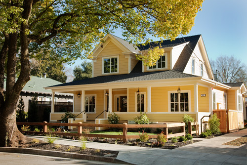 12 Charming Yellow Houses Town Amp Country Living