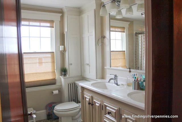 Bathroom in an eastern coastal historic home