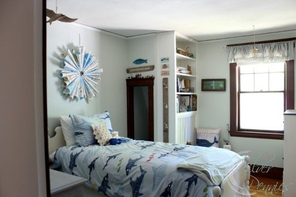 Boy's Coastal Style Bedroom