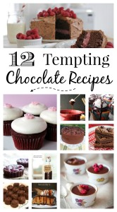 A Dozen Tempting Chocolate Recipes