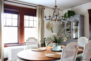 Country Style Dining Room at Finding Silver Pennies