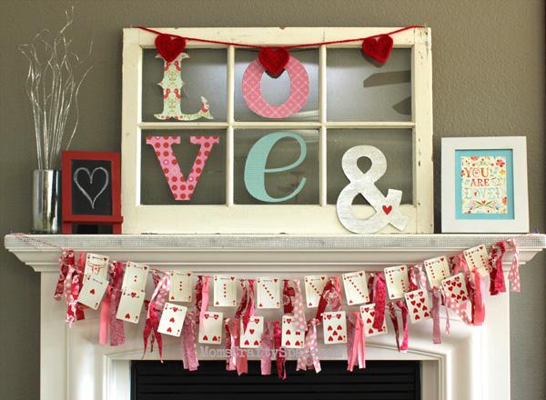 Heart Cards Garland