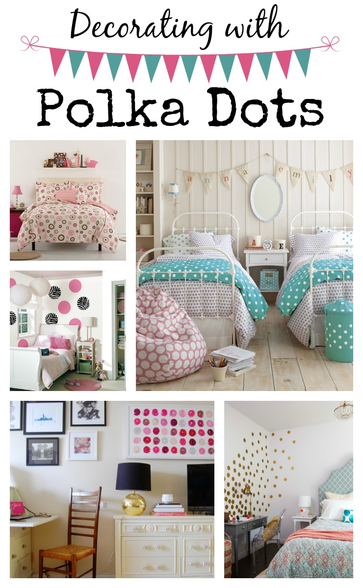 Having Fun Decorating With Polka Dots Town Country Living